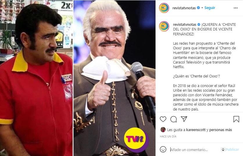 Rechazan a Jaime Camil como Vicente Fernández, prefieren a empleado de OXXO