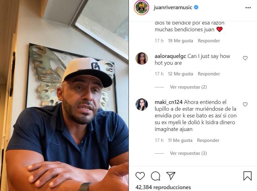 Juan Rivera aclara que no tiene $10 millones en su cuenta bancaria