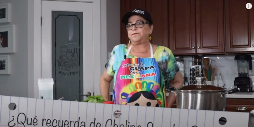La señora Rosa recuerda a Chalino Sánchez