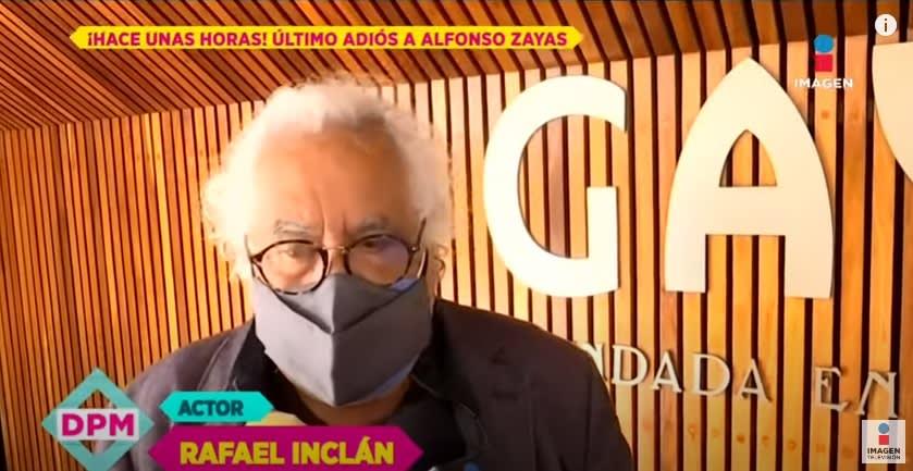 Rafael Inclán, consternado por la muerte de su primo Alfonso Zayas