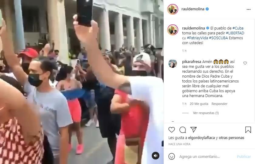 Lili Estefan, Ricky Martin y otros famosos oran por situación en Cuba