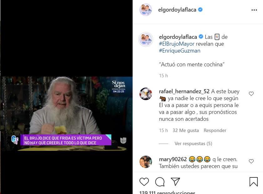 El Brujo Mayor revela la verdad sobre Enrique Guzmán cartas