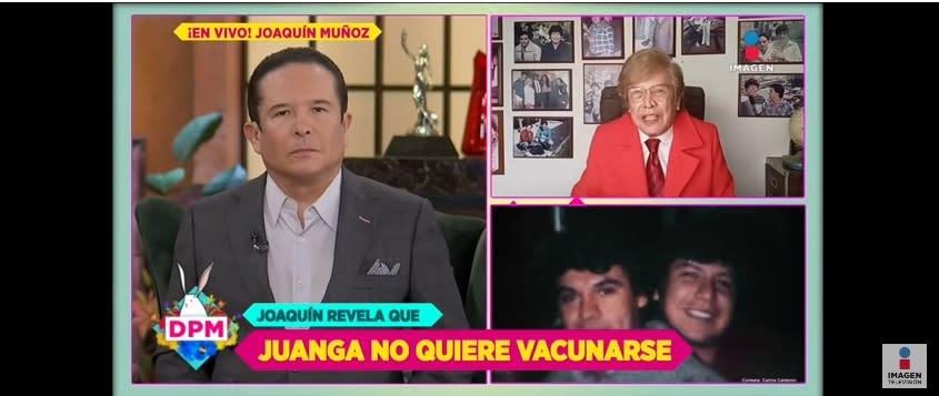 Juan Gabriel vacuna coronavirus Joaquín Muñoz ex manager