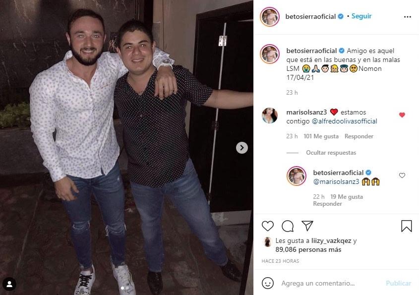 Alfredo Olivas reaparece Beto Sierra 2
