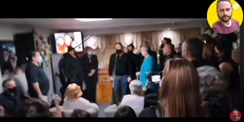 Se filtran imágenes del funeral de Ray Reyex ex compañeros de Menudo lo despiden