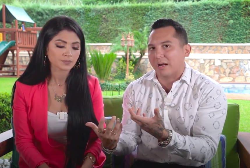 Edwin Luna, esposo Kimberly Flores