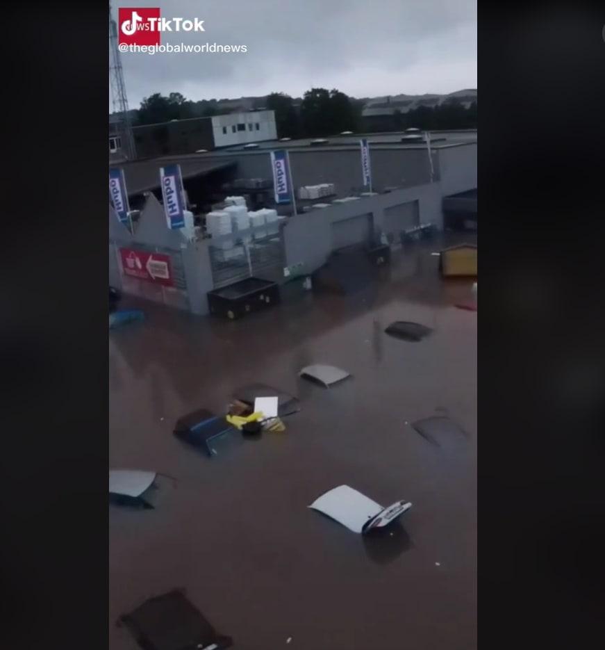 Belgium is flooded