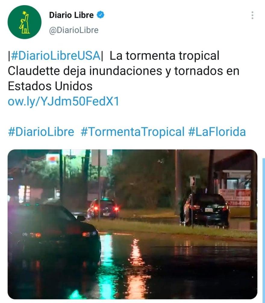 No es la única tormenta activa