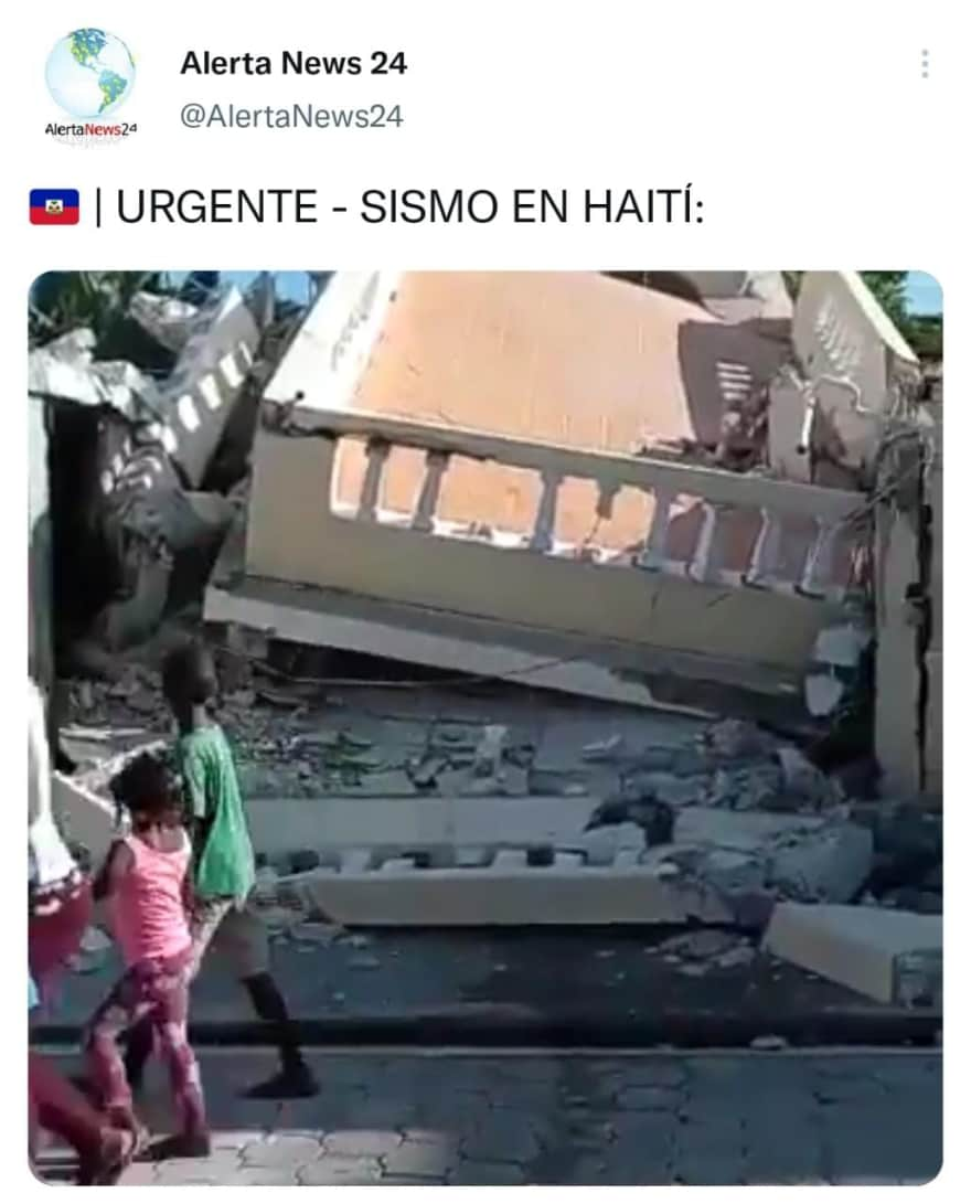 Video shows the disaster