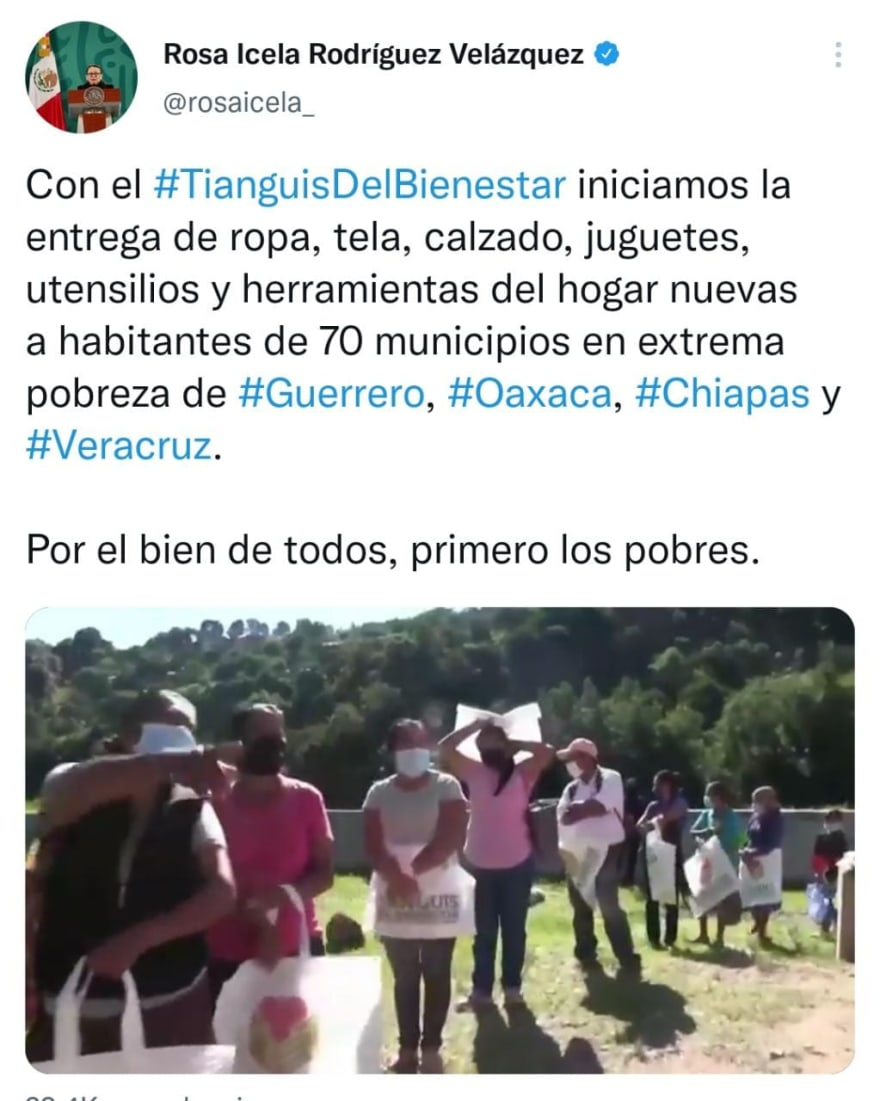 Who will attend the AMLO Tianguis?