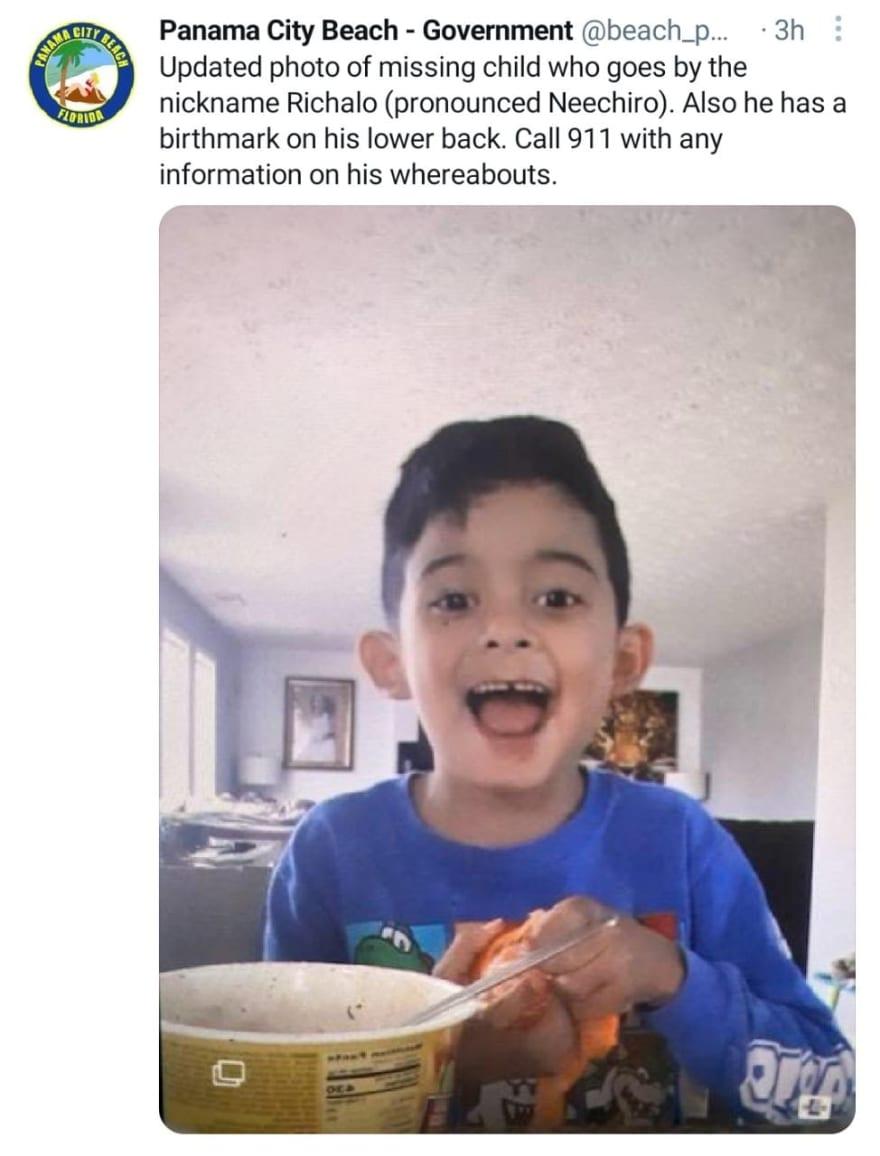 Crónica alerta niño Enrique Cortez Dubon desaparecido