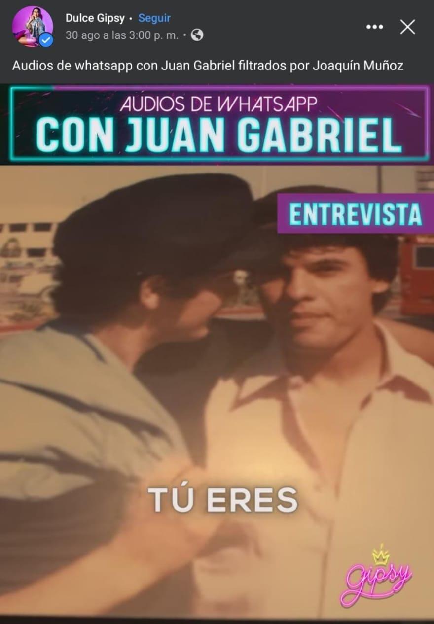 """""""La canción más bonita"""" que hizo el """"Divo de Juárez"""""""