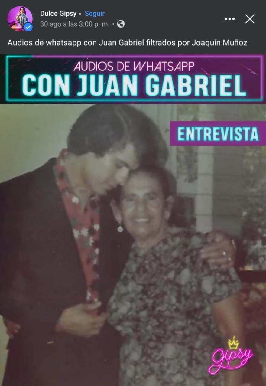 """A él le tocó darse el disparo"", revela cómo murió el 'gran amor' del ""Divo de Juárez"""