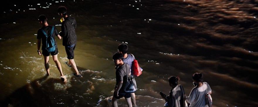 Aparecen videos en TikTok de las impresionantes inundaciones en China