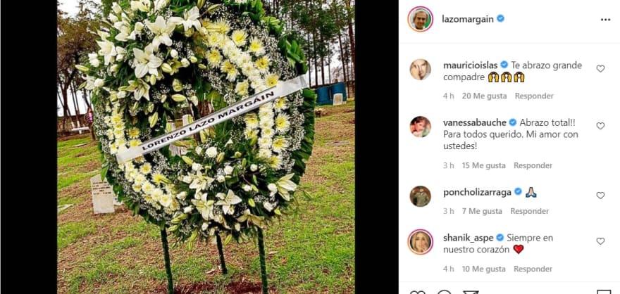 Viudo de Edith González por fin muestra dónde reposan sus restos