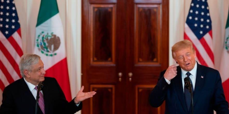 AMLO pasó de criticar a Trump a hacer su 'amigo'