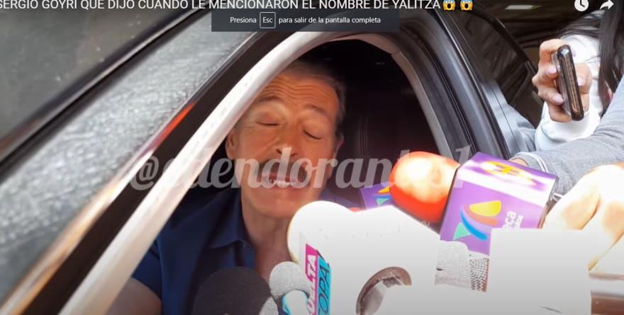 Sergio Goyri le manda mensaje a Yalitza Aparicio