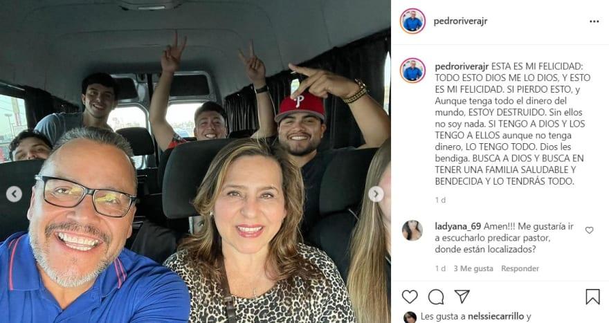Pastor Pedro Rivera Jr manda mensaje ¿a sus hermanos?