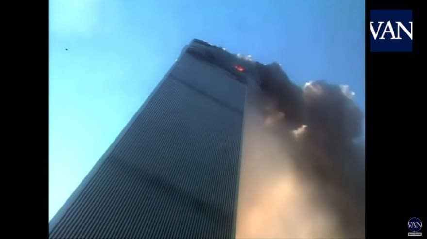 """Hell building before Twin Towers fall: """"The day the world changed"""""""