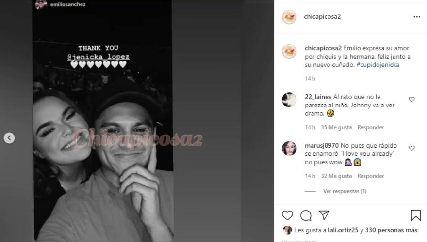 Captan a Chiquis Rivera besándose con su nuevo novio Emilio Sánchez