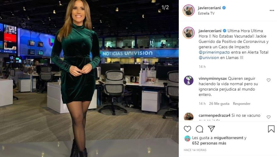 """Jackie Guerrido, """"genera un caos de impacto"""""""