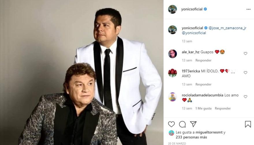 "The Yonics and their ""sad words"" Jose Manuel Zamacona"