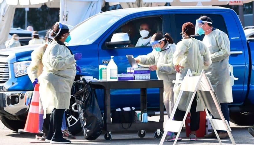 vacunación en California