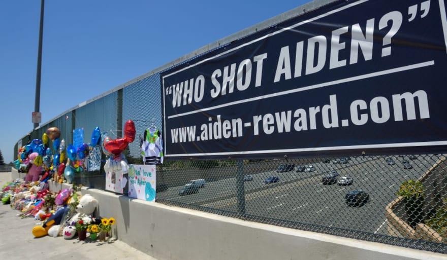 Una autopista de California se convirtió en el escenario de la tragedia