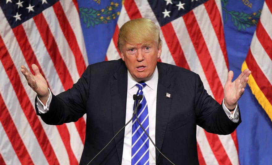 """""""El acceso a las declaraciones de impuestos del expresidente Trump es un tema de seguridad nacional"""""""