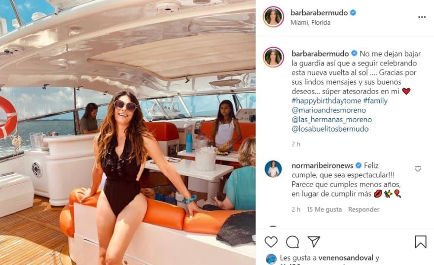 Bárbara Bermudo, exconductora de Primer Impacto, cautivó en traje de baño