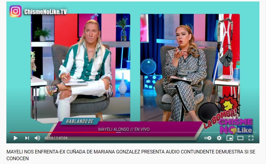Mayeli Alonso Lupillo Rivera: 'Nunca estaríamos cerca del hombre que intentó abusar de mi'