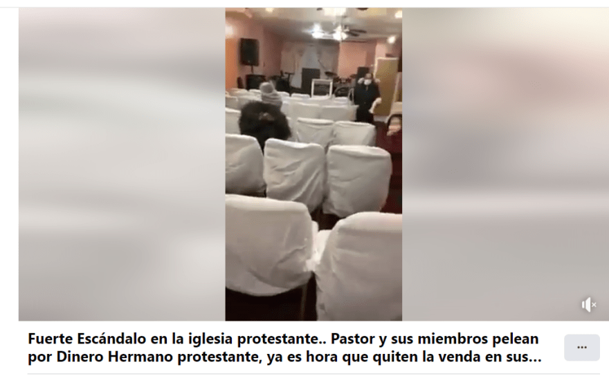 Pastor fights parishioners money: They accuse him of stealing money