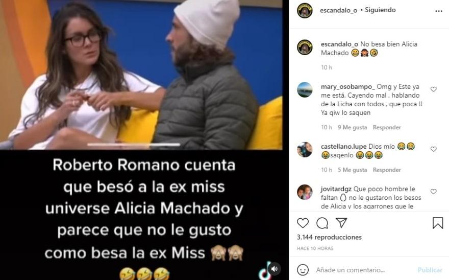 """Alicia Machado nopal con espinas Roberto Romano: """"Alicia tiene que darse a valorar"""""""