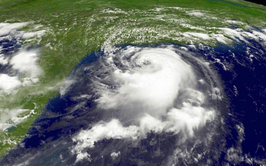 Área de vigilancia por marejada ciclónica