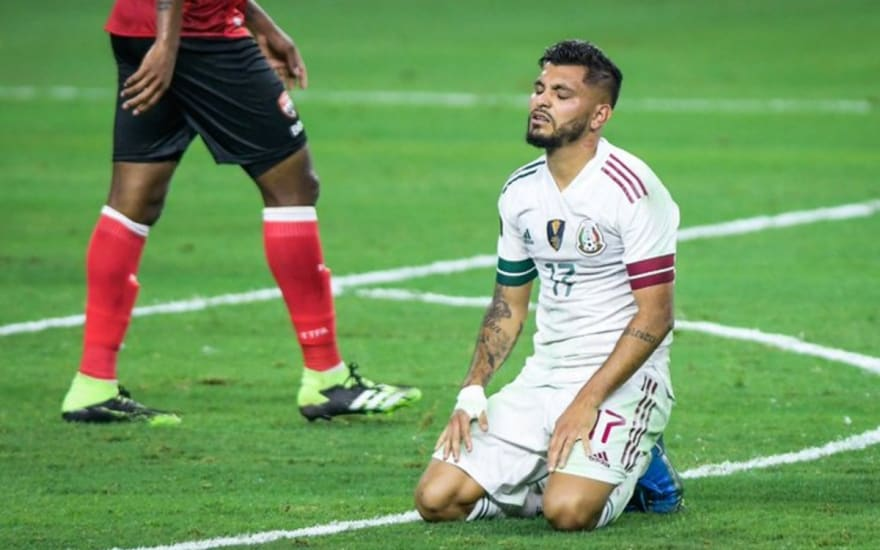 México en horrible inicio de Copa Oro, pierde a Lozano