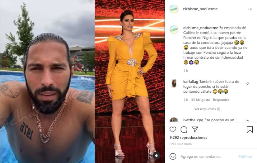 Poncho De Nigris talks about Galilea Montijo, will he be angry with him?