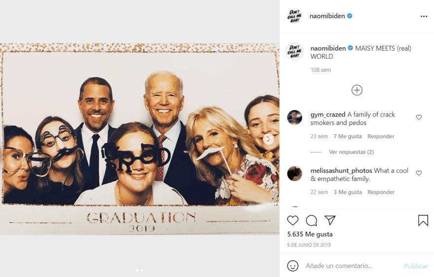 La nieta favorita de Biden