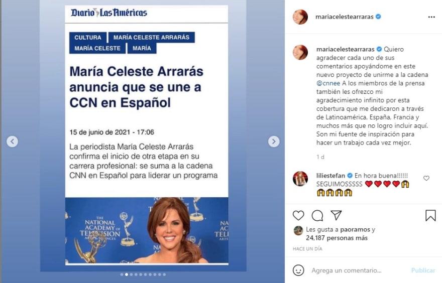 María Celeste rechazo, no la quieren en CNN