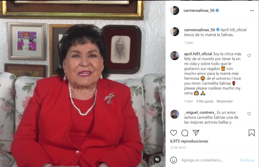 Carmen Salinas nuevamente luto: La triste noticia