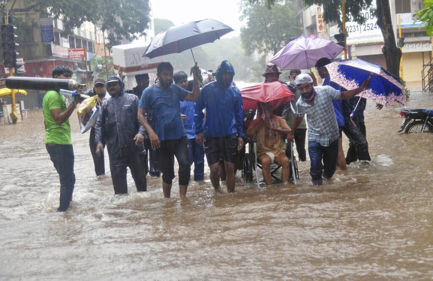 Thousands at risk from extreme weather