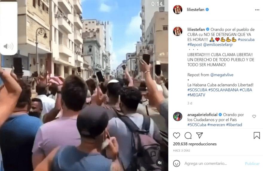 """""""Orando por el pueblo de Cuba"""""""