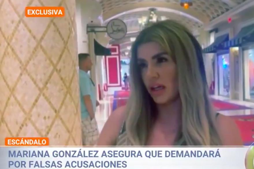 Mariana González Padilla acusada