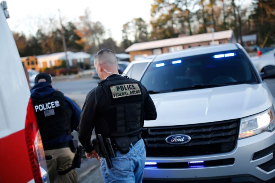 operativo nacional de ICE