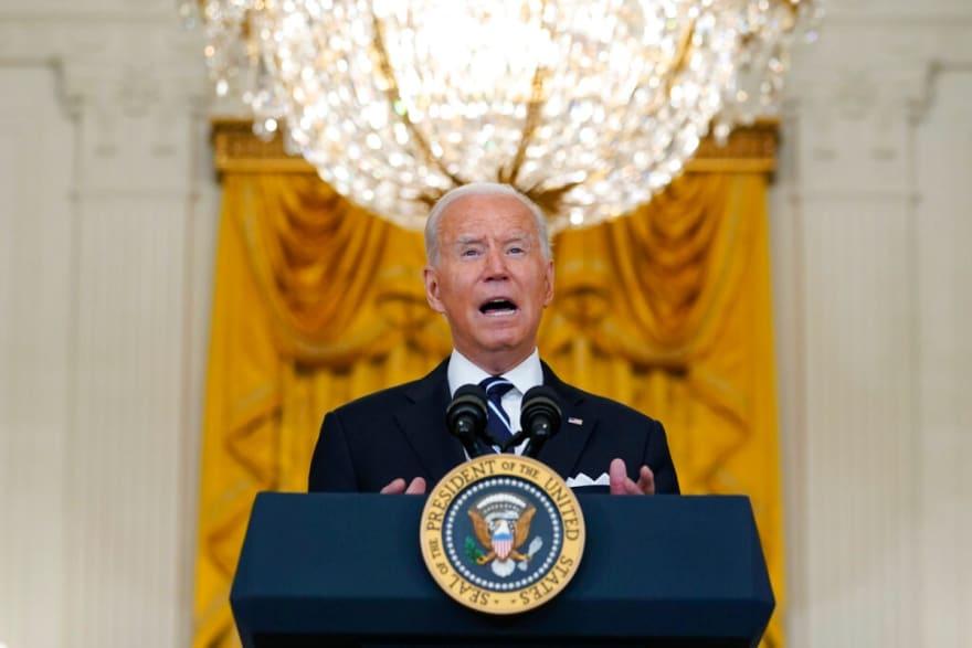 Joe Biden pidió oraciones antes de su discurso sobre Afganistán