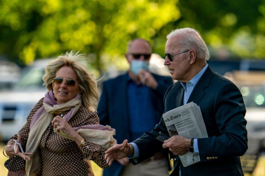 Joe Biden deja la Casa Blanca para celebrar el cumpleaños de Jill Biden en la playa (FOTOS)