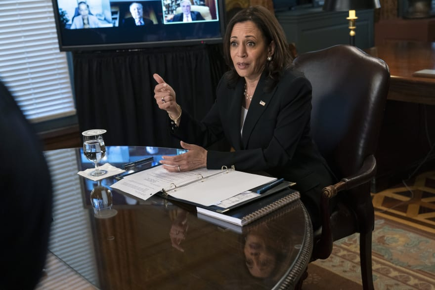"""Deserve """"all rights""""Vice President Kamala Harris says on immigration reform"""