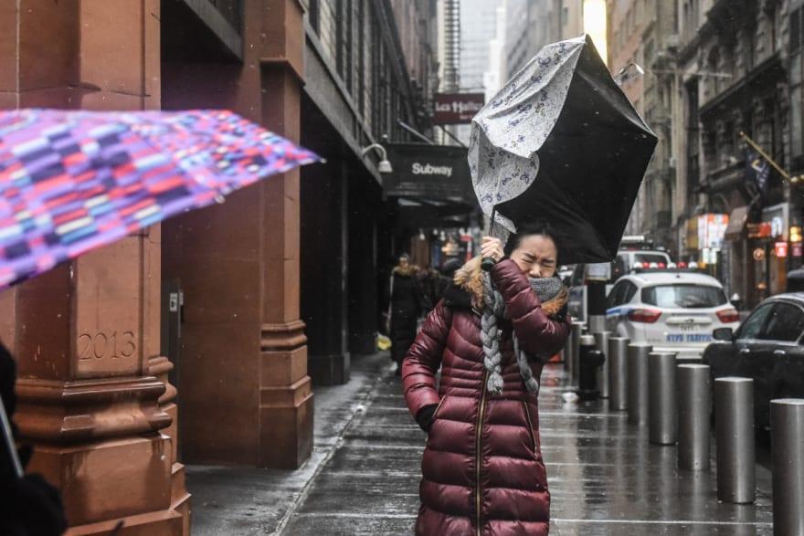 se espera lluvias y vientos