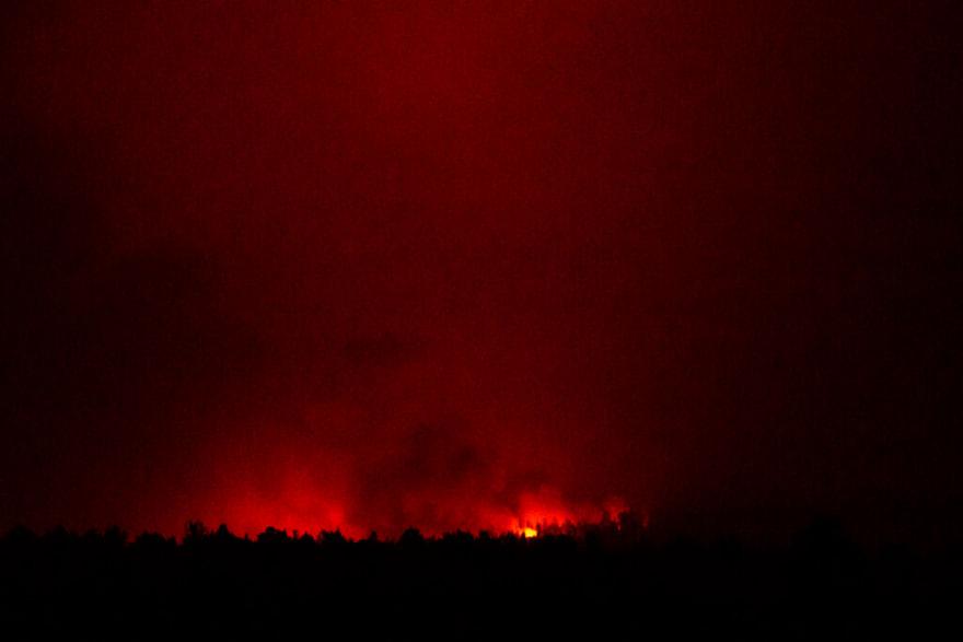 Incendio en Oregón: evacúan a miles ante peligro (FOTOS)