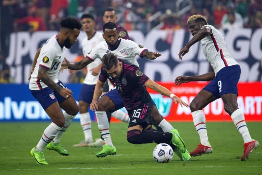 Gold Cup Final: The match was extended to overtime