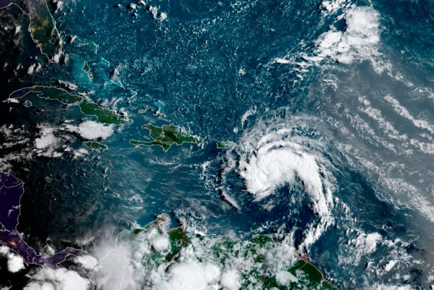 Emiten alerta por la posible tormenta Fred